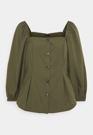 VMKARINA SQUARE - Blouse - ivy green