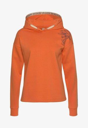 Hoodie - mandarine