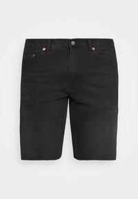CLARK - Denim shorts - black soot
