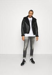 Tigha - MORTEN DESTROYED - Jeans slim fit - dark grey - 1