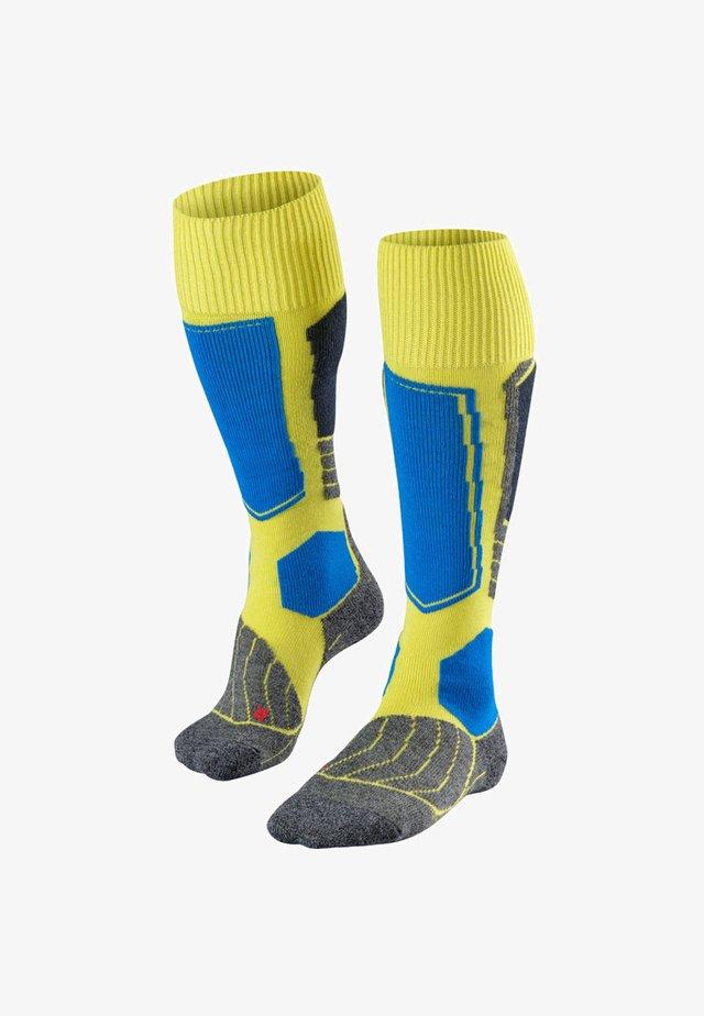 SK1 - Knee high socks - sulfur