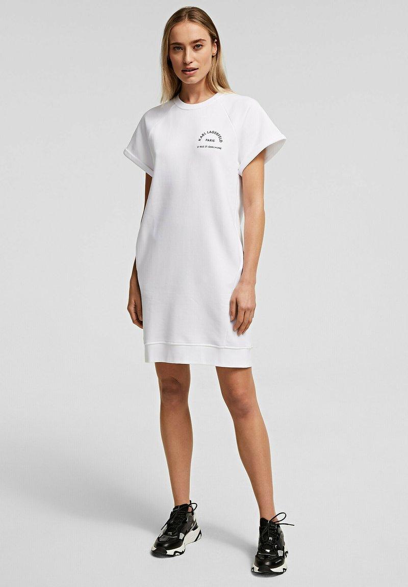 KARL LAGERFELD - Denní šaty - white