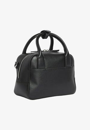 RECYCLED SMALL BOWLING - Handbag - ck black