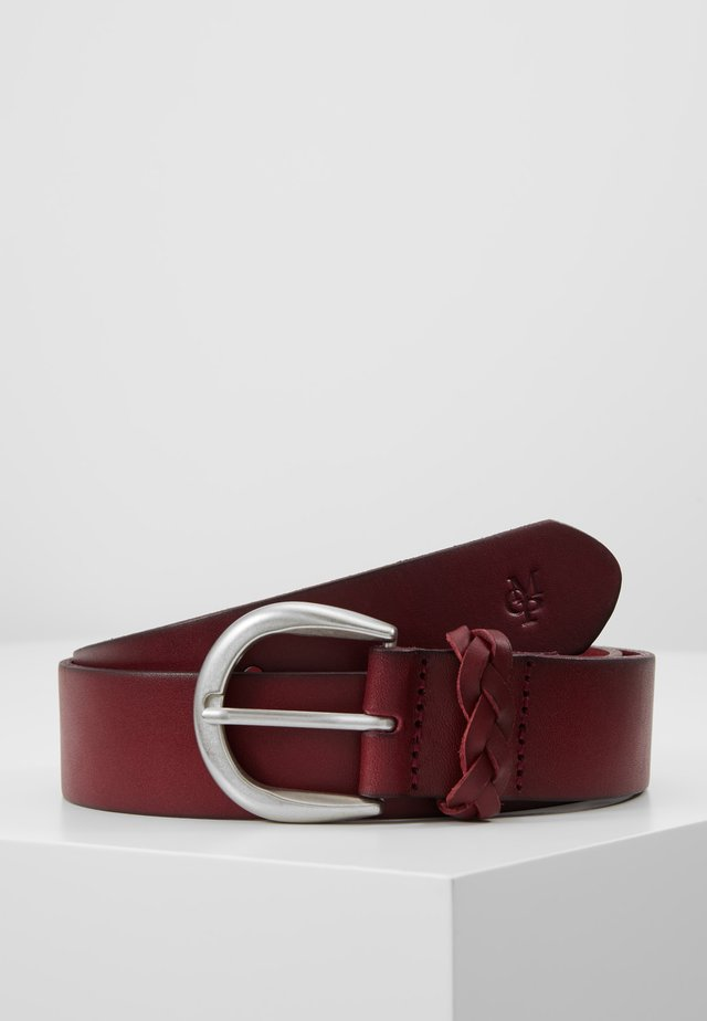 BELT LADIES - Belt - berry red