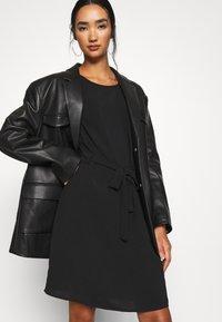 Vila - VIRASHA DRESS - Day dress - black - 4