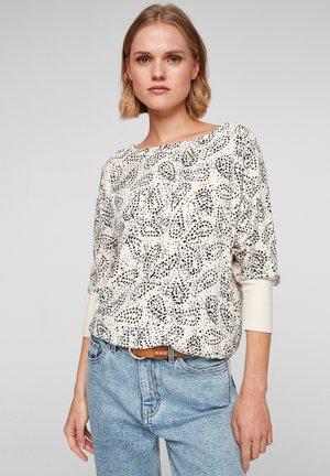 MET VLEERMUISMOUWEN - T-shirt à manches longues - light sand aop