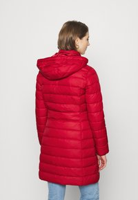 Tommy Jeans - ESSENTIAL HOODED COAT - Down coat - wine red - 4
