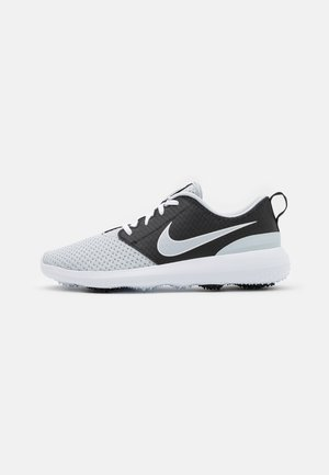 ROSHE G - Golf shoes - pure platinum/black/white