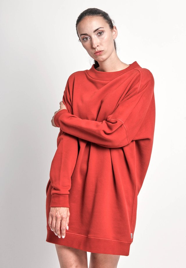 ZOE - Day dress - red