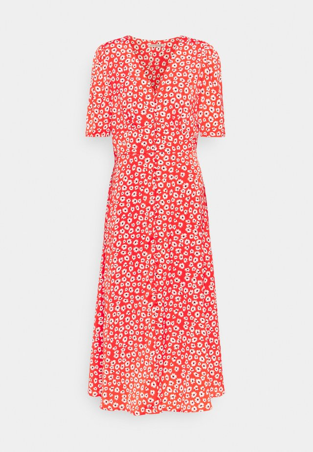 Robe d'été - red/white