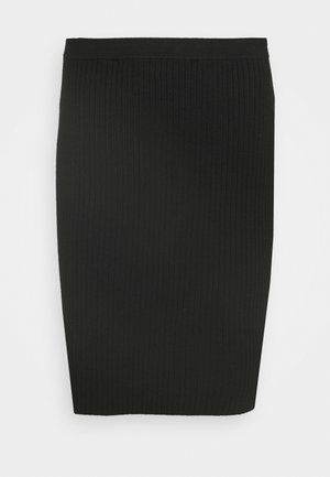 CLAUDETTE FASHION SKIRT - Mini skirt - black