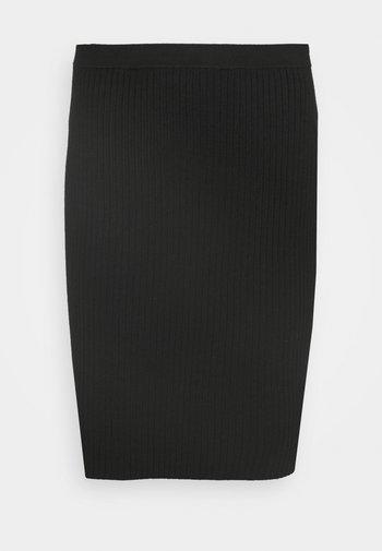 CLAUDETTE FASHION SKIRT - Minirok - black