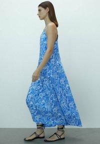 Massimo Dutti - Maxi dress - blue - 2