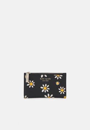 SMALL SLIM BIFOLD WALLET - Peněženka - black/multi-coloured