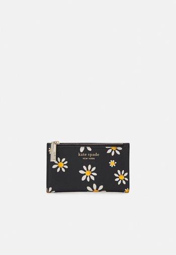 SMALL SLIM BIFOLD WALLET - Wallet - black/multi-coloured