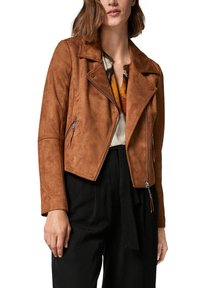 comma - Faux leather jacket - brown - 5