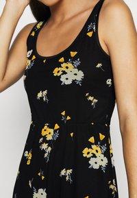 Even&Odd - Day dress - black/yellow - 6
