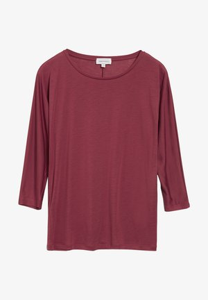 Long sleeved top - rosewood