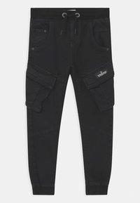 Vingino - CARLOS - Cargo trousers - deep black - 0