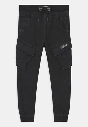 CARLOS - Cargo trousers - deep black
