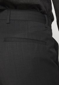 Calvin Klein Tailored - TWILL STRUCTURE PANT - Trousers - dark grey heather - 3