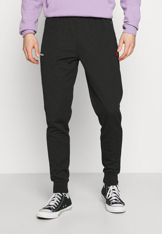 BERTONI TRACK PANT - Tracksuit bottoms - black