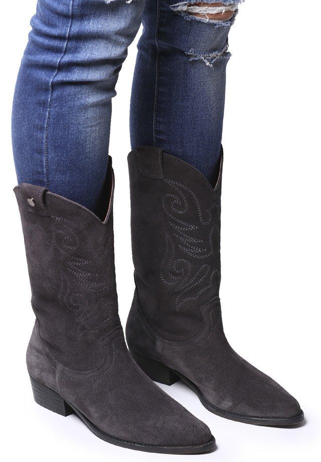 UTILA-SY - Cowboy/Biker boots - gris