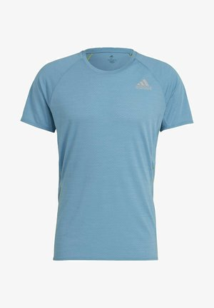 SUPERNOVA PRIMEGREEN RUNNING SHORT SLEEVE TEE - Camiseta básica - blue