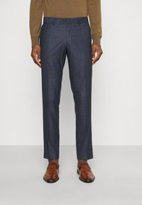 Isaac Dewhirst - CHECK SUIT - Suit - dark blue - 3