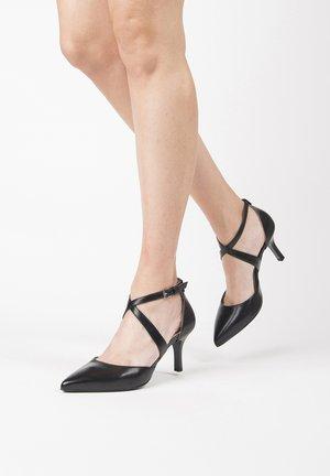 E011084DE - Classic heels - nero