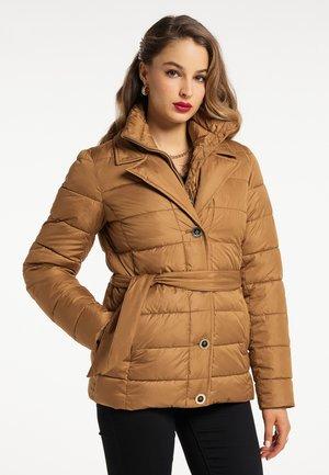 Zimní bunda - sand