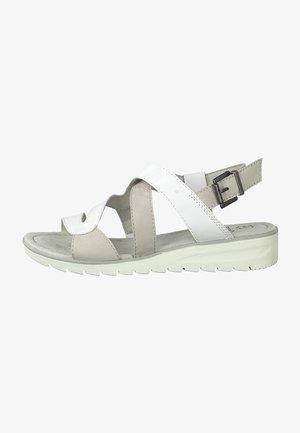 Sandalias - white/grey
