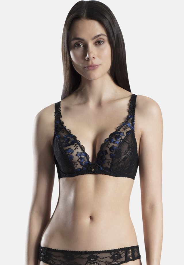 Soutien-gorge triangle - blue night