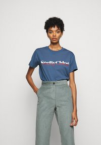 See by Chloé - Print T-shirt - faded indigo - 0