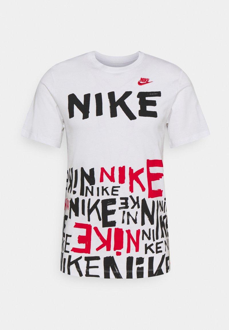 Nike Sportswear - TEE - T-shirt con stampa - white/university red