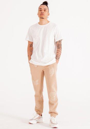 DRAG CLOUD - Pantaloni sportivi - chinchilla