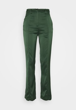 STUDIO SPLIT SKINNY FIT TROUSER - Trousers - forest green