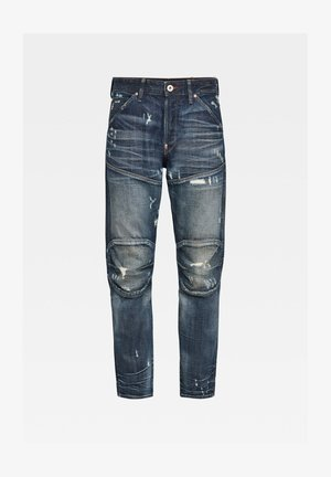 Relaxed fit jeans - antic faded tarnish blue destroyed