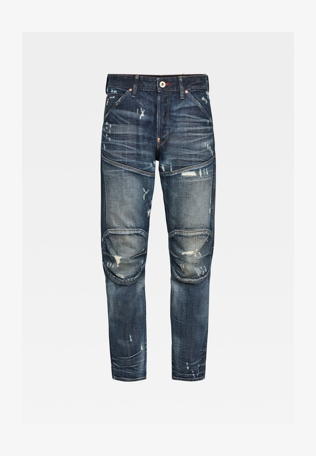 Jeans baggy - antic faded tarnish blue destroyed