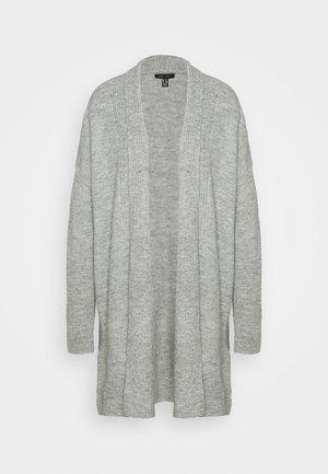 SHAWL COLLAR CARDIGAN - Cardigan - mid grey