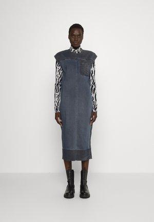 CLARA - Denim dress - blu