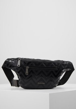 NUTRIA EMBOSSED WAISTBAG - Bum bag - nero