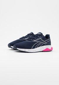 Reebok - LIQUIFECT 180 2.0 - Zapatillas de running neutras - vector navy/glass pink/pink - 1
