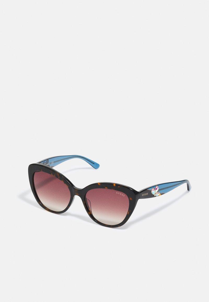 Guess - Sunglasses - dark havana / gradient brown
