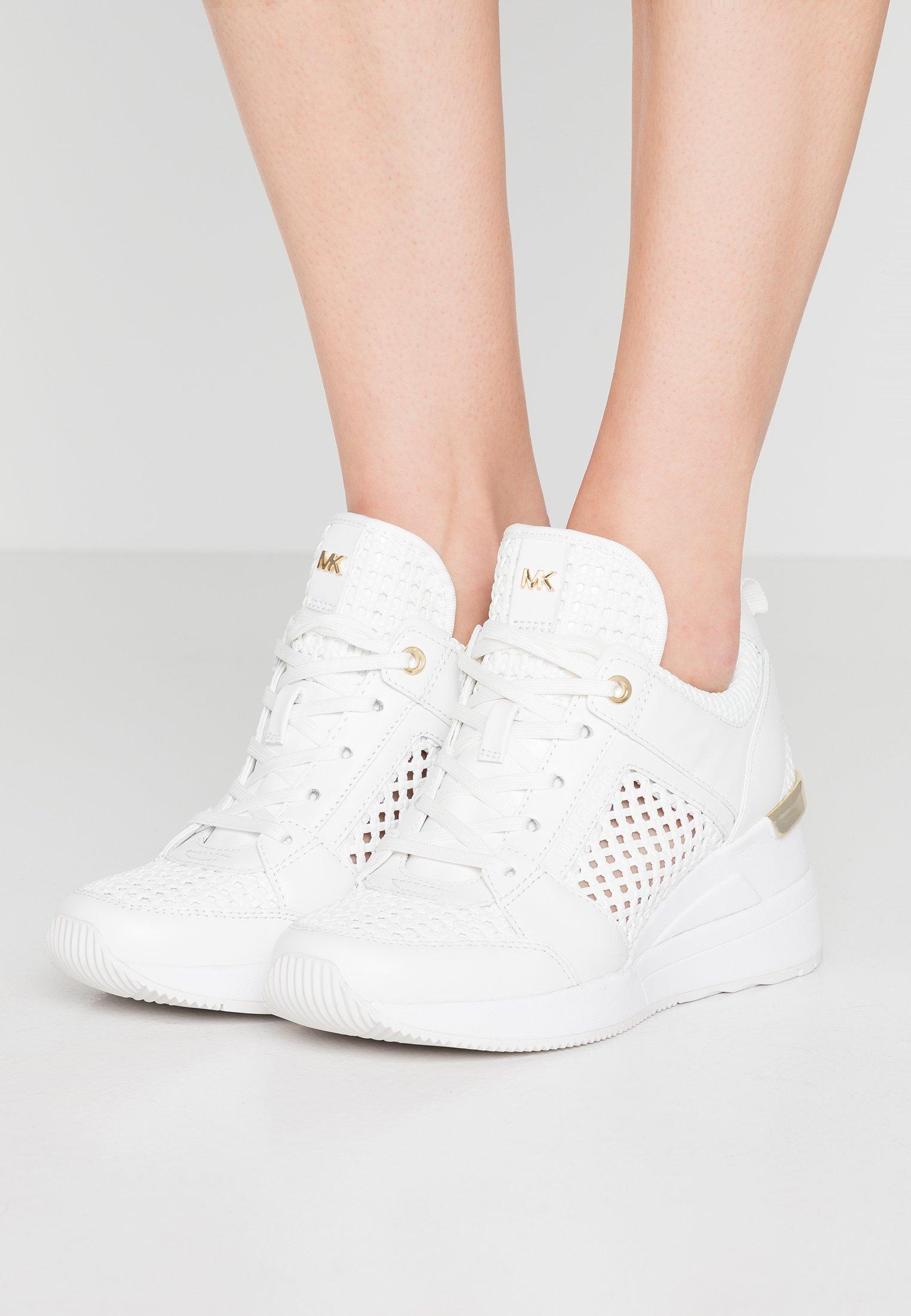 GEORGIE TRAINER Sneakers optic white