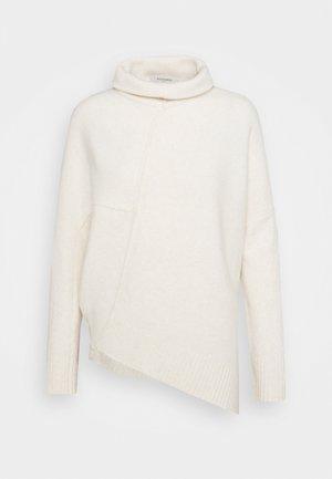 LOCK ROLL NECK - Jersey de punto - alabaster white