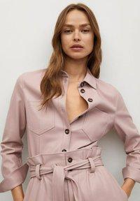 Mango - NASTIA - Button-down blouse - rosa pastel - 3