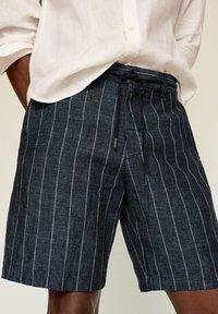 Mango - Shorts - dunkles marineblau - 4