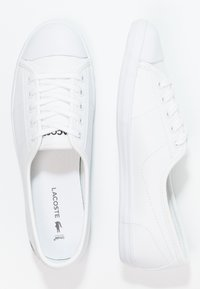 Lacoste - ZIANE - Sneakersy niskie - white - 2