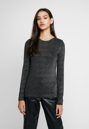 Long sleeved top - silver